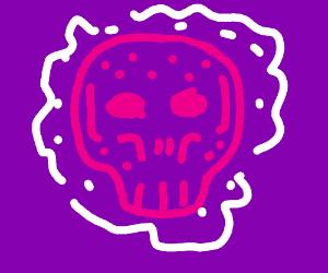 Dia de los meurtos looking skull
