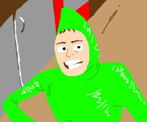 Idubbz In A Green Suit Drawception