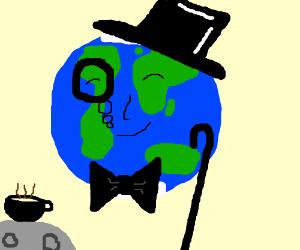 a real fancy earth