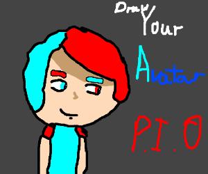 Draw your avatar pio