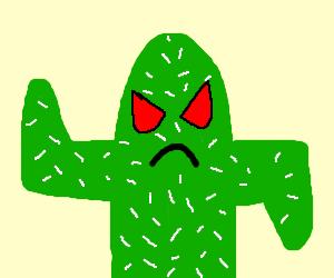 An Angry Cactus