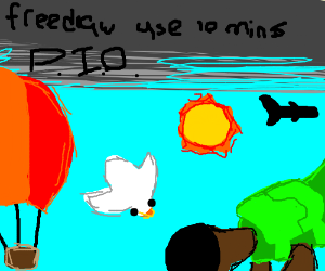 Free draw USE ALL 10 MINUTES (PIO)