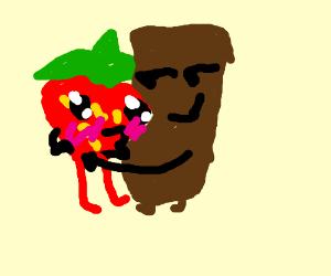 Strawberry and Chocolate Love