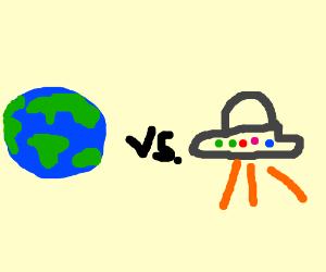 Bitchfight: Earth VS Ufo