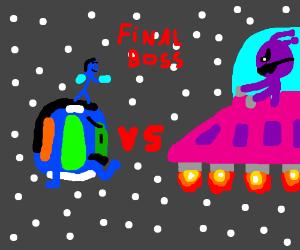 Earth vs ufo