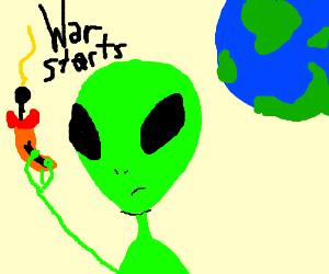 Mars declares war