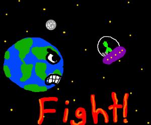 Alien vs Earth