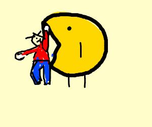 pacman eats kids