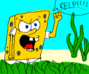 Spongebob Kelp Fries Golfclub