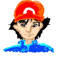 Realistic Ash Ketchum