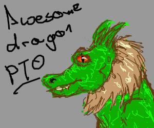 awesome dragon PIO
