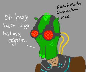 rick and morty character pio