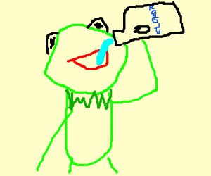 Danimal Lecter - DrawceptionKermit Drinking Bleach