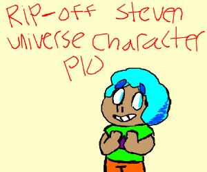Ripoff Steven Universe character, PIO