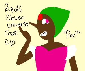 ripoff steven universe characters pio