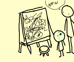a poor excuse for a art
