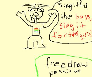 Free Draw!! (P.I.O / SFW)