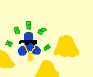 Fidgetspinner making cash