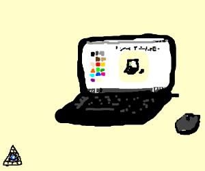 A Drawing of a Drawing of Drawception D