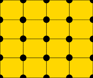 yellow with dots and squares (perfection)
