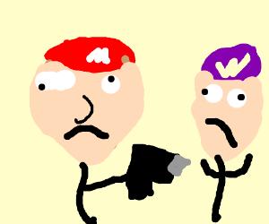 waluigi and mario have a sensible disagreement