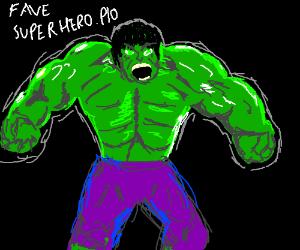 favourite superhero pio