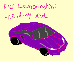 Ksi Lamborghini Drawception