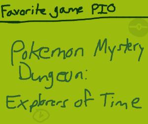 Favorite Game (PIO)(Personally: Sonic 2)