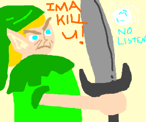 Link is going to kill Navi