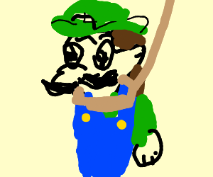 luigi is going to be hanged