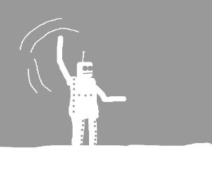 Waving arm robot