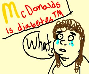 Mcdonalds is diabetesTM