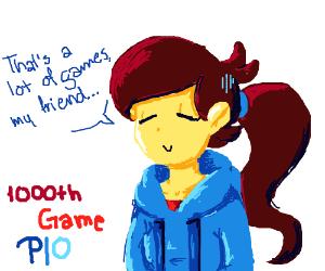 1000th game pio
