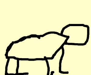 Harambe comes back to life as a stick figure