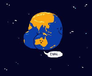 Australia as Earth's Booty