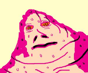 Sweaty Pink Jabba The Hutt