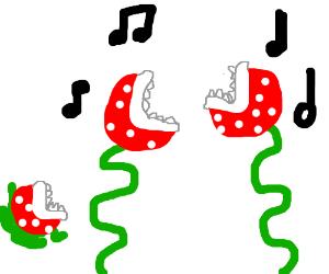 Piranha Plants Dance