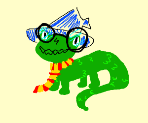 Harry Pottre is a Lizard Wizard