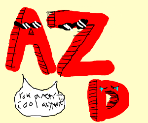 Unlike A and Z, D is no longer a cool letter
