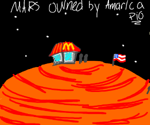 pio: mars owned by America