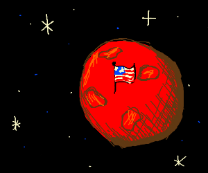 Mars Owned by America PIO