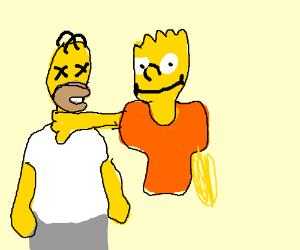 Bart killed Homer