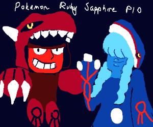 Draw Pokemon Sapphire and Ruby PIO (Pass it On