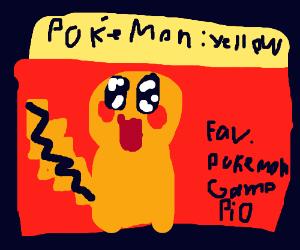 Fav Pokemon game PIO