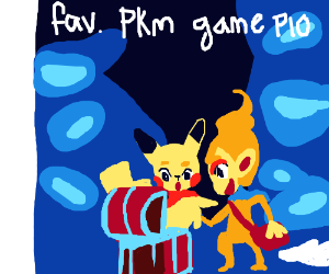 fav. pokémon game PIO