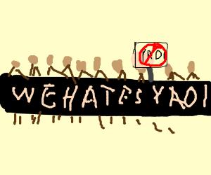 everyone hates YAOI