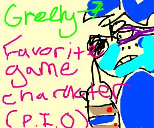 Favorite Game Character PIO (2B)