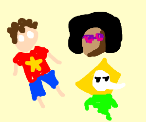 "Steven Universe main characters....""Welp"""