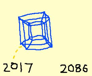 Tesseract timejump