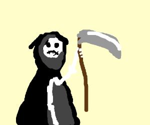Grim Reaper demands respect